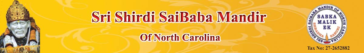 Sri Shirdi Saibaba Mandir of North Carolina
